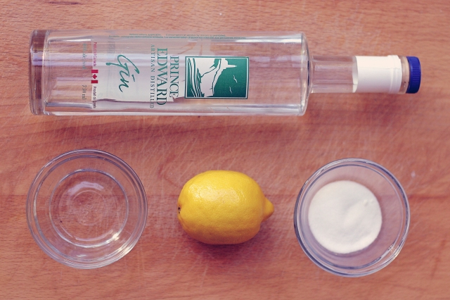 Gin Sour Ingredients