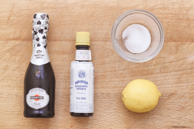 110. Champagne Cocktail - Ingredients