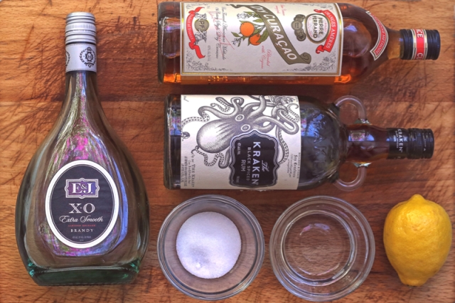 20. Curacoa Punch Ingredients