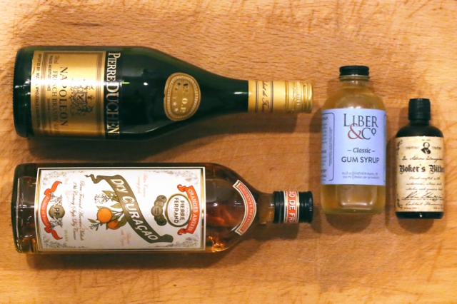106. Bottle Cocktail - Ingredients