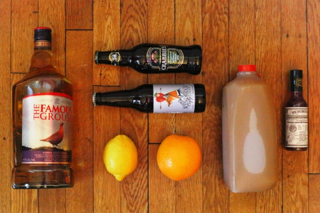 Chilled Cider Punch - Ingredients