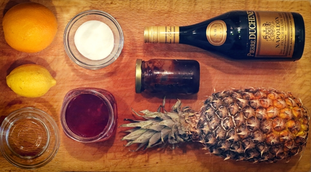 70. Barbadoes Punch - Ingredients