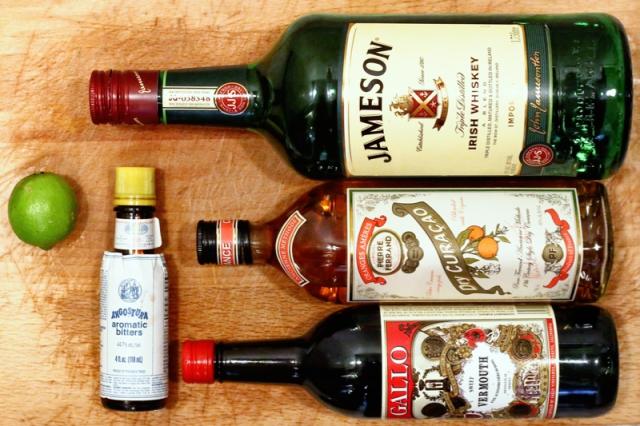 The Irish Derby - Ingredients