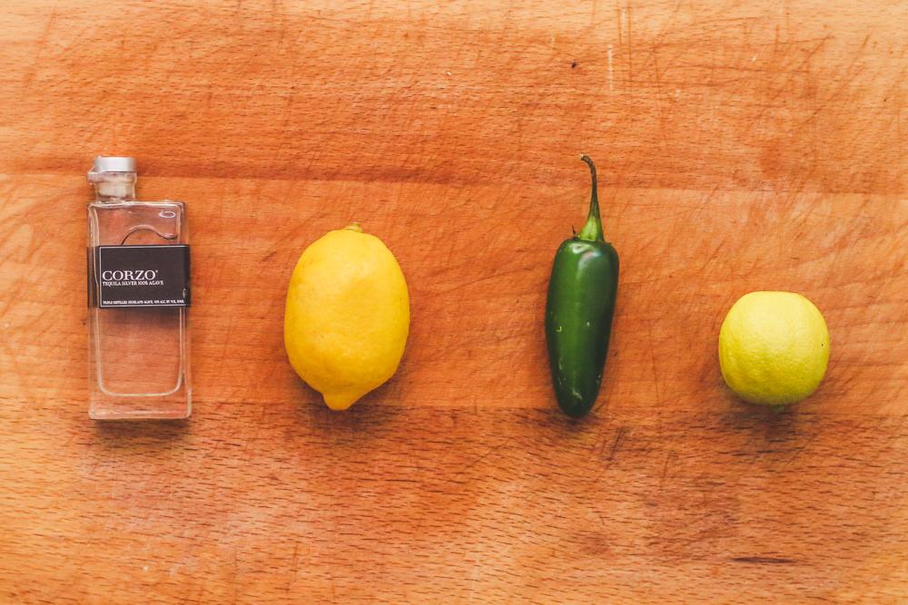 Jalapeno Lemonade Ingredients